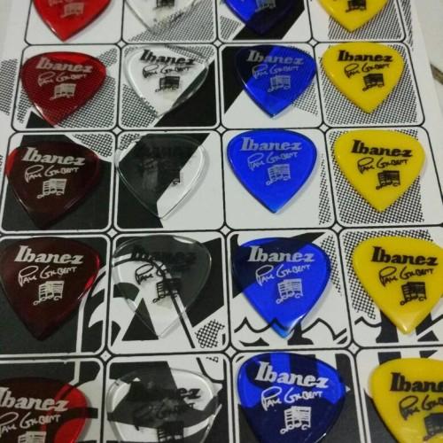 Foto Produk Pick Gitar 2mm Murah selembar isi 20 biji dari shockWave workshop