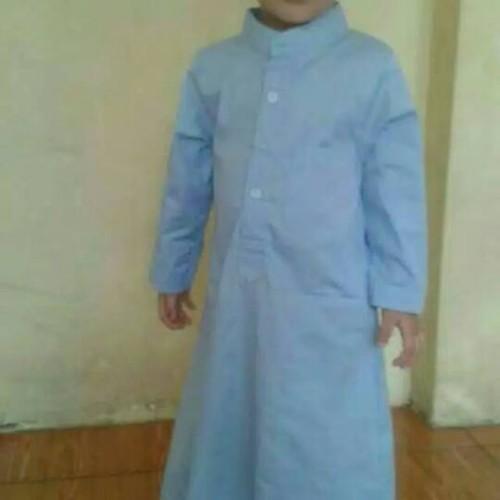 Foto Produk gamis jubah pria anak ukuran 2-4th, aamaleeq. dari aamaleeq