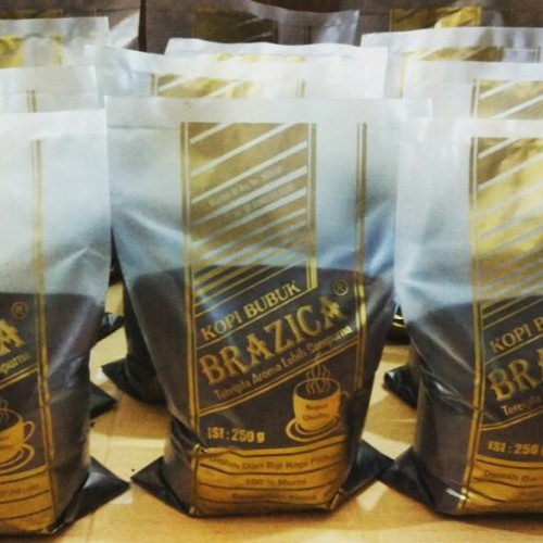 "Foto Produk Kopi Bubuk Robusta Lampung 1 KG ""Brazica"" Gold Quality dari Brazica"