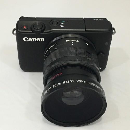 Foto Produk Rajawali wide-macro converter 49mm for Canon M10, M3, 50mm f/1.8 STM dari Rajawalidigital