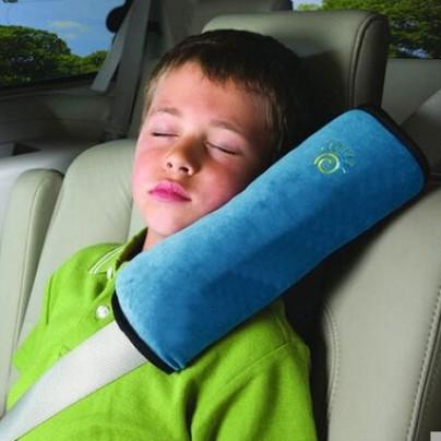 Foto Produk JUAL Car Seat Belt Pillow Bantal Sabuk Pengaman Mobil Interior ACC - PINK -SABUK dari Travelbuddy