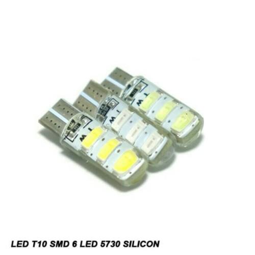 Foto Produk T10 led 6 SMD 5730 Silicon Canbus - Putih dari jozzled