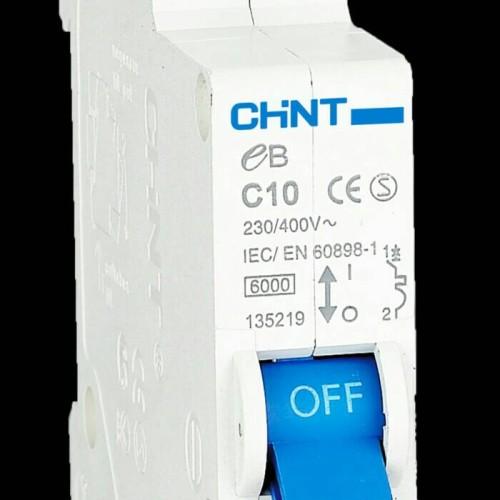 Foto Produk MCB/Sekring Chint eB 1P (6A,10A,16A,20A,25A,32A,40A) dari tk terang jaya elektrik
