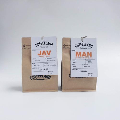 Foto Produk Kopi Arabika Java Specialty 250 Gr dari Coffeeland Indonesia Official