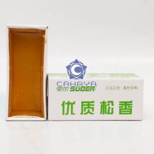 Foto Produk Gondo Rukem Merek Suoer Untuk Solder Arpus Gum Rosin Getah Resin dari Cahaya Elektronik Solo