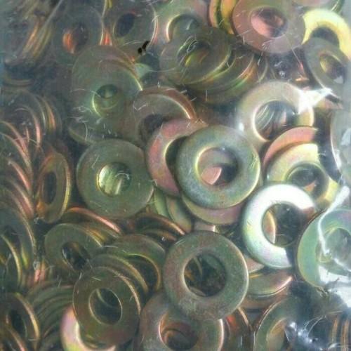 Foto Produk ring plat m8 kuning 100 pc dari ONE_FASTENER