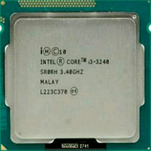 Foto Produk Procesor Intel Core i3 3240 3.40Ghz Tray Plus Fan Ori Socket 1155 dari AT Comp