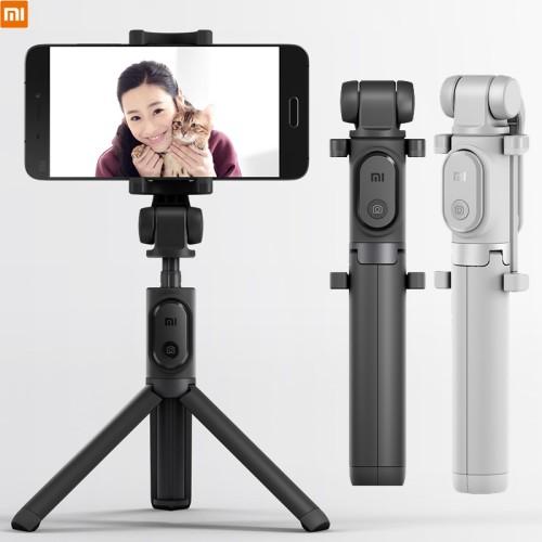 Foto Produk ORIGINAL XIAOMI Mi Selfie Stick Tripod Bluetooth - Hitam dari Pasti Original Asli