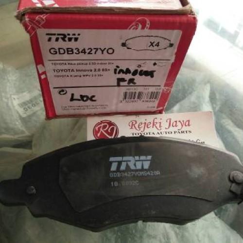 Foto Produk Brake Pad / Kampas Rem Depan Kijang Innova TRW dari Bengkelparts