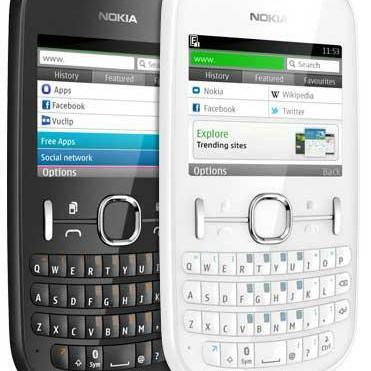 Foto Produk Nokia Asha 201 GSM - Original  Baru | Handphone (HP) / Smartphone No dari GadgetinBro
