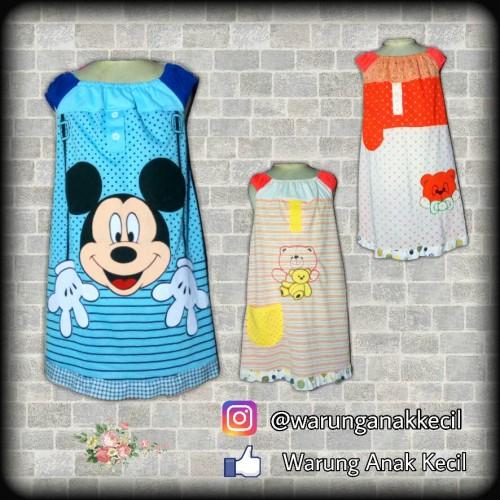 Foto Produk Grosir Daster Anak | Daster Anak size XL | Dress Anak dari Warung Anak Kecil
