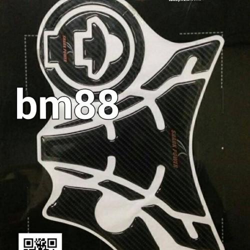 Foto Produk Tank Pad Set ( Tankpad + Fuelpad ) Yamaha R15 - Shark Power dari BarokahMotor88