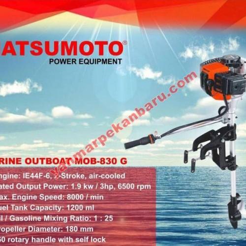 Foto Produk Mesin Tempel Outboard 3 Pk Matsumoto dari yanmarindo