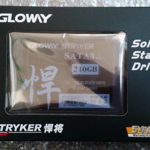 Foto Produk Gloway SSD STRYKER Series 240GB dari tf com