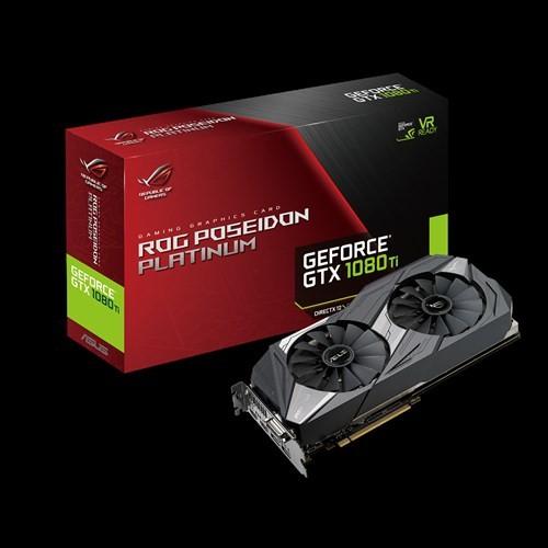 Foto Produk ASUS ROG GTX 1080TI POSEIDON PLATINUM 11GB DDR5X 352 BIT dari tf com