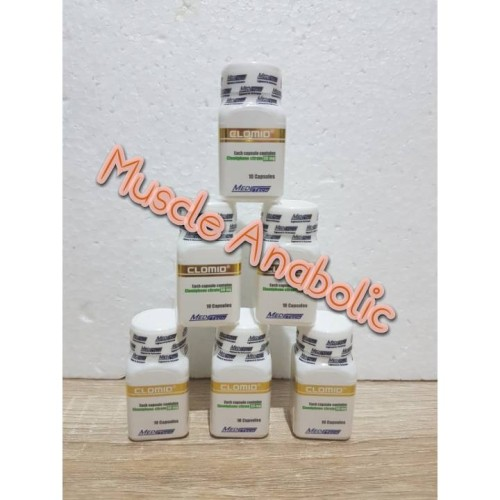 Foto Produk Clomid 50mg Meditech dari Muscle Anabolic