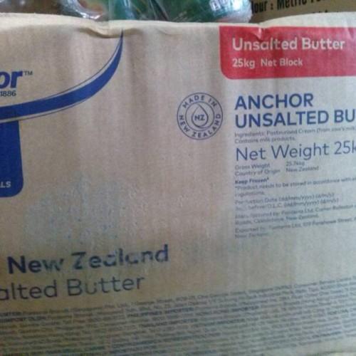 Foto Produk anchor butter unsalted repack 1kg dari liebeec