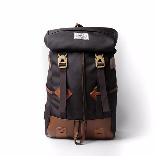 Foto Produk TAS RANSEL VISVAL RAGA BROWN | TAS LAPTOP | TAS PRIA | TAS WANITA dari About Bags