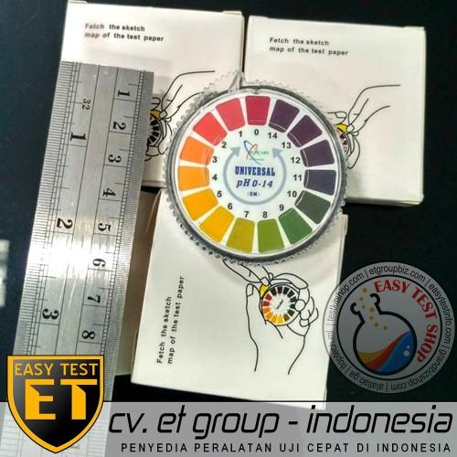 Foto Produk DF UNIVERSAL Roll pH Indicator Paper - Kertas pH Rol Indikator pH 1-14 dari Sooper Shop