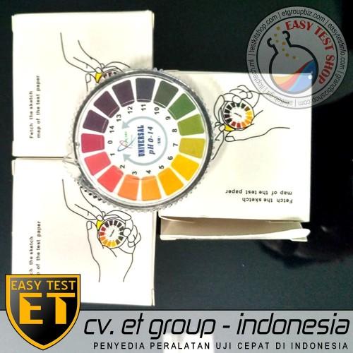 Foto Produk DF UNIVERSAL Roll pH Indicator Paper : Kertas pH Rol Indikator pH 1-14 dari Sooper Shop