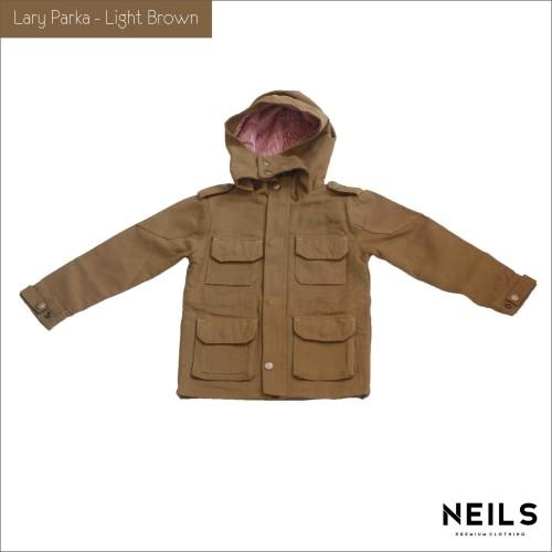 Foto Produk JAKET PARKA ANAK NEILS LARY - LIGHT BROWN dari NEILS STORE