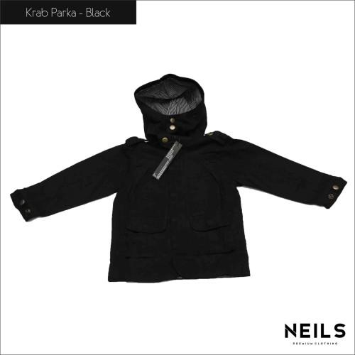Foto Produk Jaket Parka Anak Neils Krab - Black dari NEILS STORE