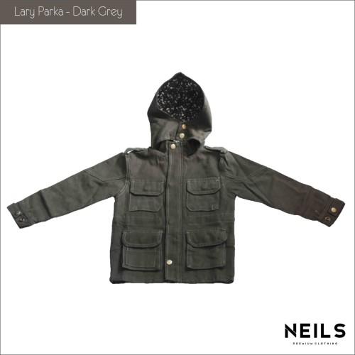 Foto Produk Jaket Parka Anak Neils Lary - Dark Grey dari NEILS STORE
