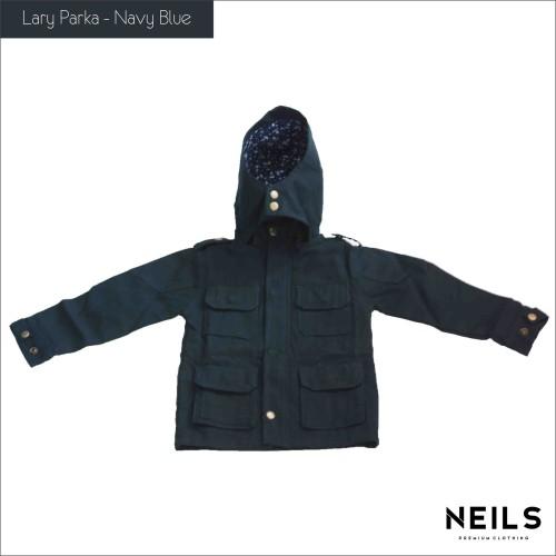 Foto Produk Jaket Parka Anak Neils Lary -  Navy Blue dari NEILS STORE