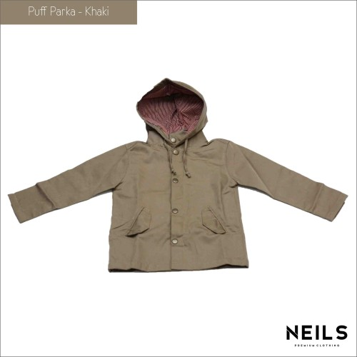 Foto Produk Jaket Parka Anak Neils Puff - Khaki dari NEILS STORE