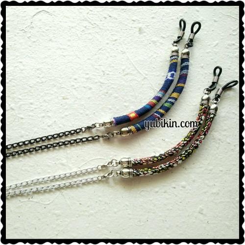 Foto Produk Strap Tali Kacamata Tribal Ethnic Fabric Cord Aksesoris dari Yubikin Craft
