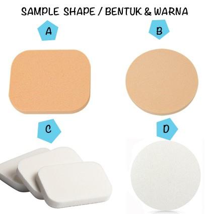 Foto Produk Regular Makeup SPONGE - NOONERDS ( 4 macam bentuk yang bisa di pilih) dari twindshop
