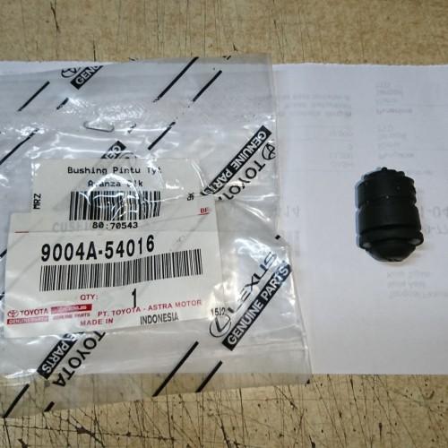 Foto Produk Karet Pintu / Stoper Bagasi Original Toyota Avanza 9004A-54016 (70543) dari Jasutra motor