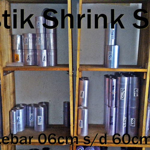 Foto Produk Plastik Shrink Wrap Segel Termurah Terlengkap dari PlastikShrinkSegelWrap