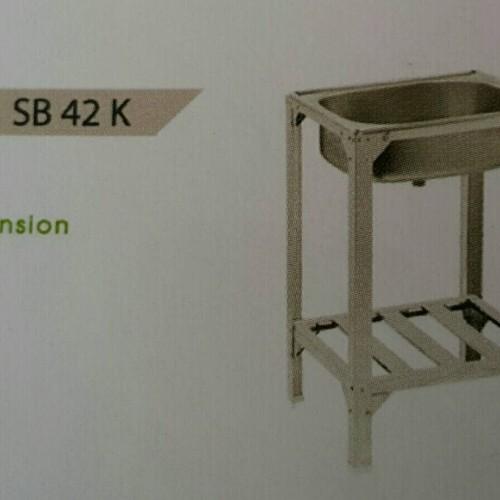 Foto Produk Royal Kitchen Sink SB 42K Bak Cuci Piring Pakai Kaki dari Juragan Sanitary
