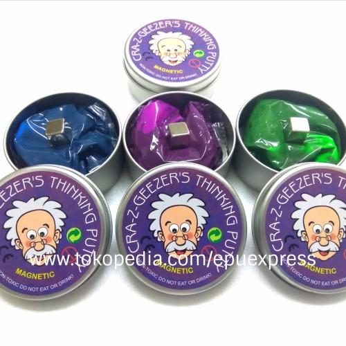 Foto Produk CRAZ-Z-GEEZER'S Magnetic Putty Slime (TIDAK LENGKET & TIDAK BERNODA) dari EPU Express