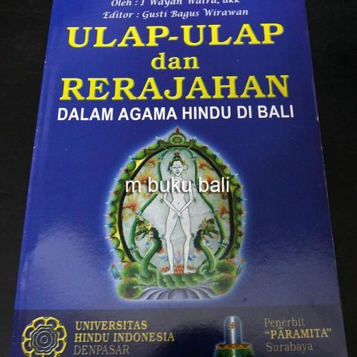 Foto Produk Ulap-ulap dan Rerajahan Dalam Agama Hindu di Bali - buku bali hindu dari m buku bali