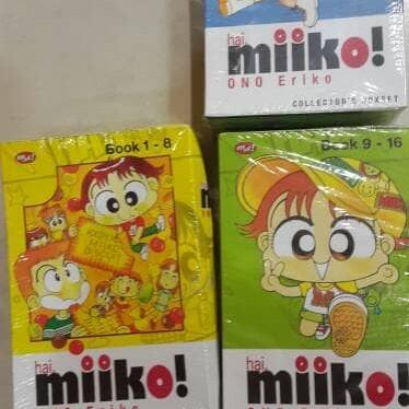 Foto Produk komik miko no 1-29 lengkap kecuali no 28 harus cari dulu dari alwin91