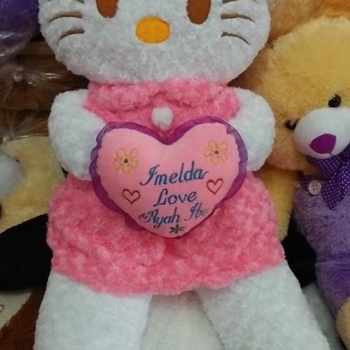 Foto Produk Boneka Hello Kitty rok jumbo + ukir nama dari NN BONEKAKU