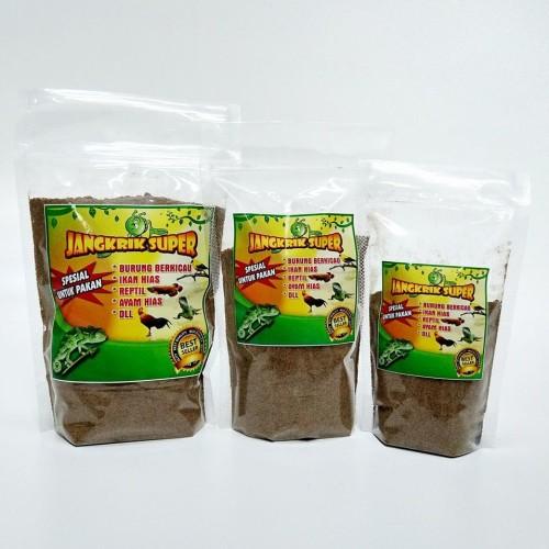 Foto Produk Tepung jangkrik Super Pakan Ikan Arwana Kemasan 200 gr Murah dari SuryaGuna