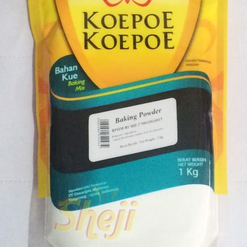 Foto Produk BAKING POWDER CAP KOEPOE KOEPOE/ BAKING POWDER CAP KUPU KUPU 1KG dari Sheji