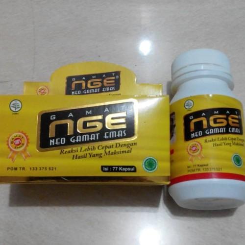 Foto Produk Kapsul Gamat NGE Neo Gamat Emas 77 - Jelly Gamat Kapsul dari Amanah Herbal Surabaya