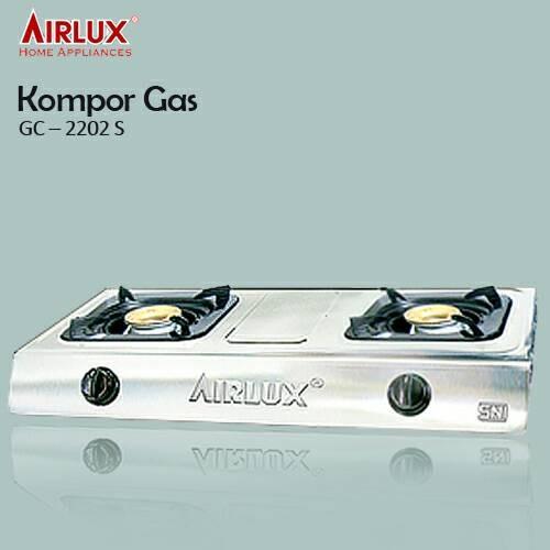 Foto Produk Kompor Gas Airlux GC-2202 S Stainless Steel dari Tirta Houseware