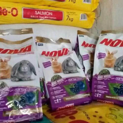 Foto Produk makanan kelinci marmut Guineapick Nova Rabbit Food Mixed Berries 1 kg dari AApetshop27