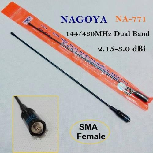 Foto Produk Antena HT Panjang Model Lentur - Lidi Nagoya NA-771 Dual Band dari plugandpay