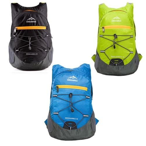 Foto Produk Xinguanhua Tas Gunung Lipat Hiking Camping Waterproof Backpack 17L dari plugandpay