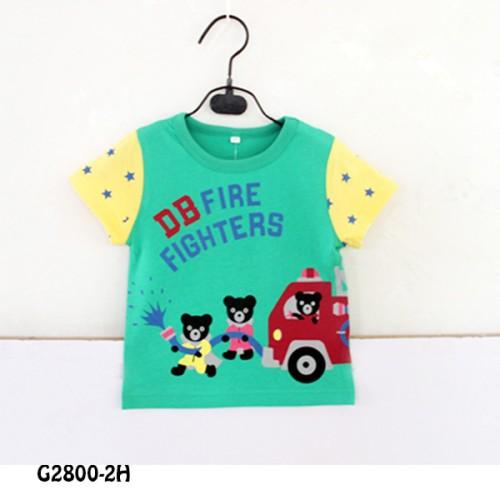 Foto Produk SHORT TEE GREEN FIRE FIGHTER G28002H dari Bebi J Shop