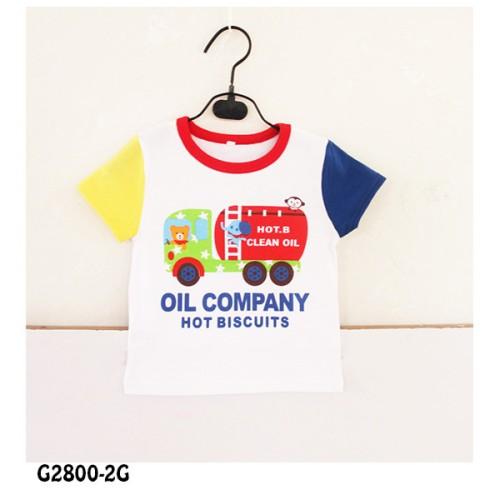 Foto Produk SHORT TEE WHITE OIL COMPANY G28002G dari Bebi J Shop
