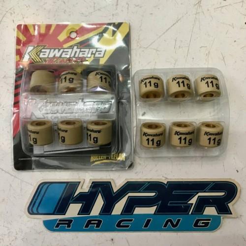 Foto Produk Roller Kawahara Racing 11G 11 Gram Beat Karburator Scoopy Karbu Spacy dari HYPER RACING