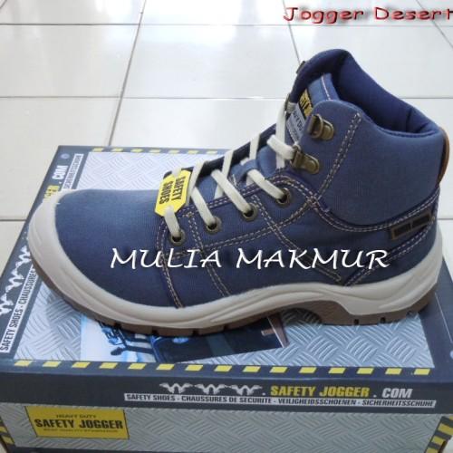 Foto Produk Sepatu Safety Jogger Desert S1P Blue dari Mulia Komputer
