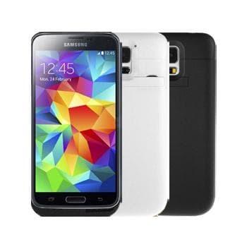 Foto Produk Samsung Galaxy S5 Power Case 3500mAh Back Case Casing Cover  dari Bungkusbro